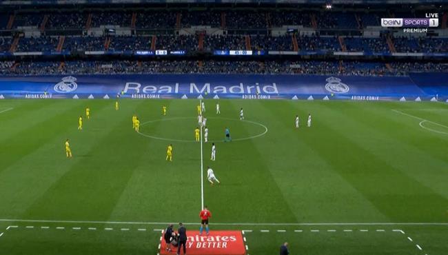ملخص مباراة ريال مدريد وفياريال في الدوري الاسباني