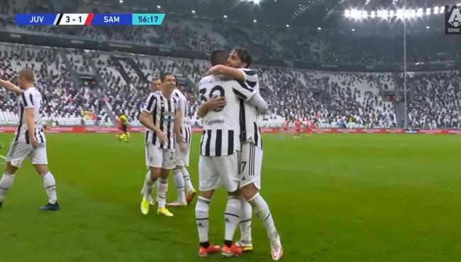 اهداف مباراة يوفنتوس وسامبدوريا (3-2) الدوري الايطالي
