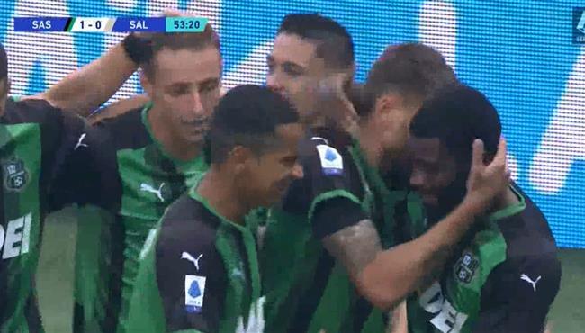 هدف فوز ساسولو علي ساليرنيتانا (1-0) الدوري الايطالي