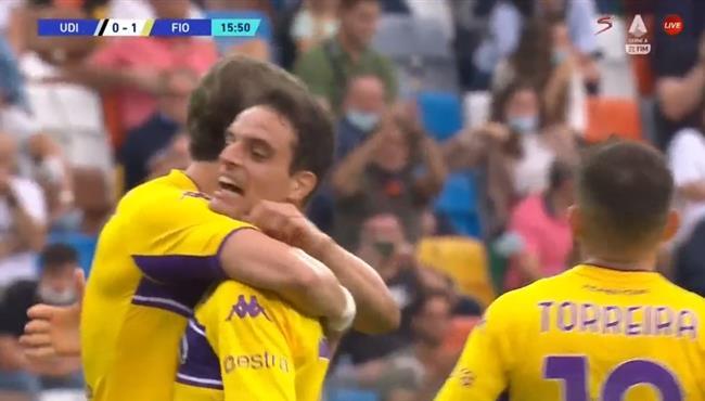هدف فوز فيورنتينا علي اودينيزي (1-0) الدوري الايطالي