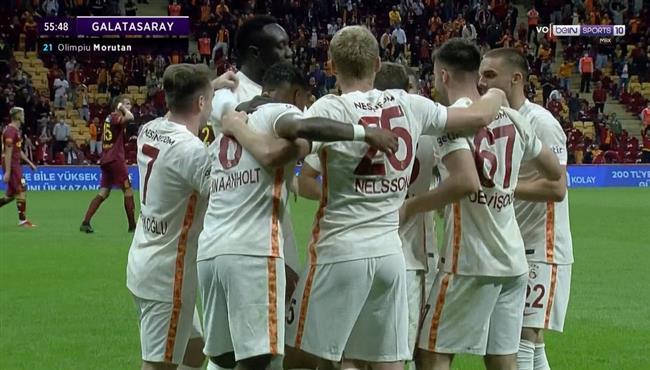 اهداف مباراة جالطة سراي وجوزتيبي (2-1) الدوري التركي