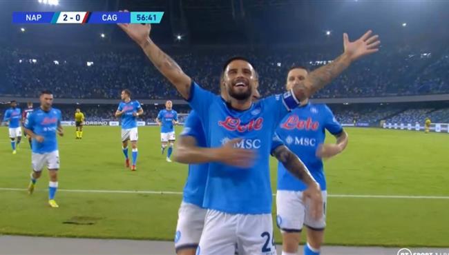 اهداف مباراة نابولي وكالياري (2-0) الدوري الايطالي